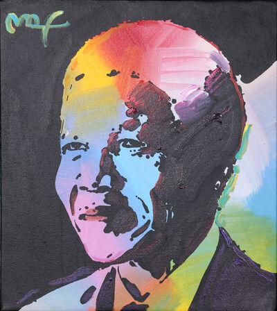Peter Max, 'Nelson Mandela 1', 2001