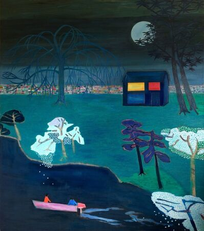 Tom Hammick, 'Violetta and Alfredo under the moon', 2015