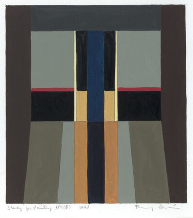 Fanny Sanin, 'Study for Painting No. 1 (5)', 1998