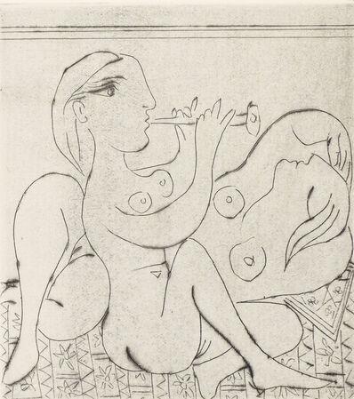Pablo Picasso, 'Flûtiste et dormeuse II', 1933