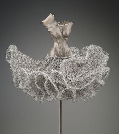 Estella Fransbergen, 'Bronze with Crochet Wire', 2017
