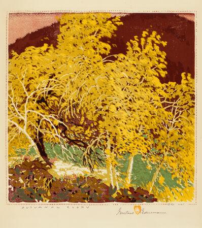 Gustave Baumann, 'Autumnal Glory', 1953