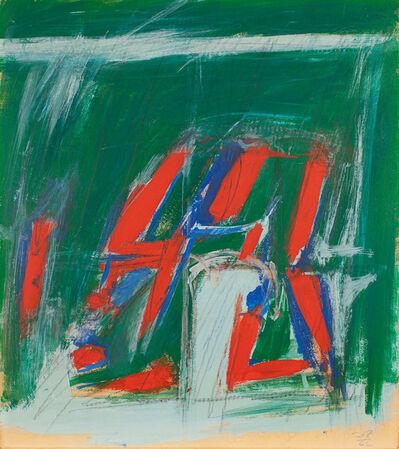 Jack Tworkov, 'Sketch for Script', 1962