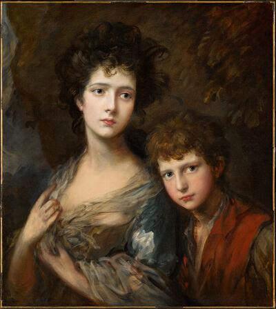 Thomas Gainsborough, 'Elizabeth and Thomas Linley', ca. 1768