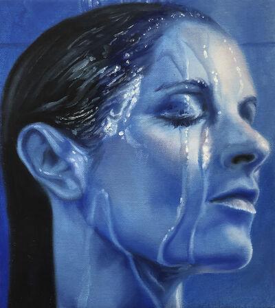 Kelli Vance, 'Self Portrait in Blue', 2018