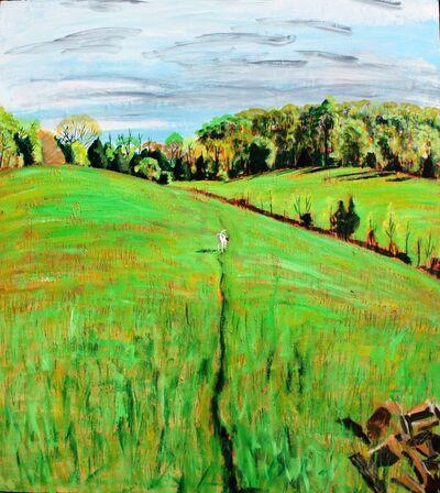 "John Borden Evans, '""Iris' Path""', 2013"