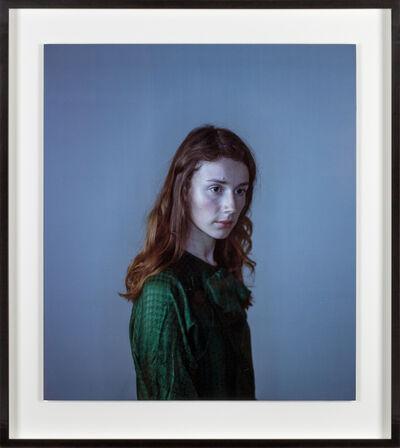 Richard Learoyd, 'Small Tatiana in green', 2010