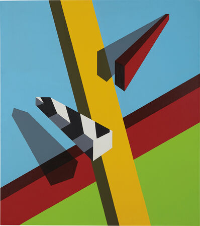 Allan D'Arcangelo, 'Landscape', 1968