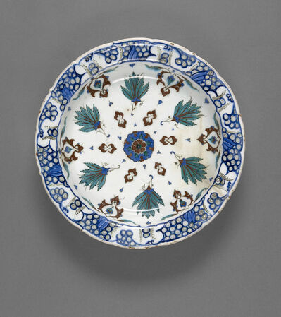 Unknown Artist, 'Plate', late 16th century
