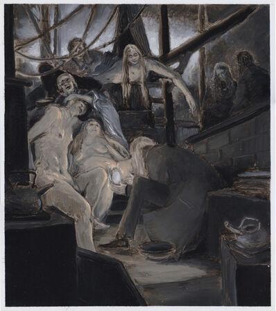 Mark Ryan Chariker, 'Oil Study for Birth Scene', 2020