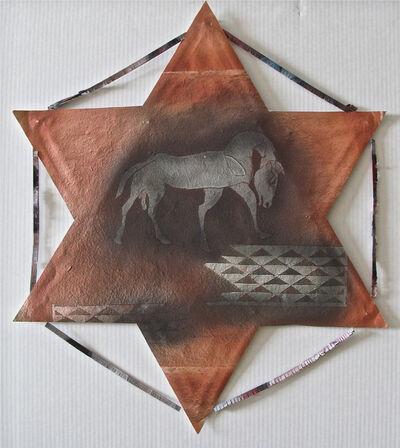 Francisco Toledo, 'Cometa estrella grande con caballo', 2007