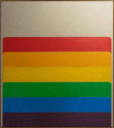Bertrand Fournier, 'Rainbow domino I', 2019