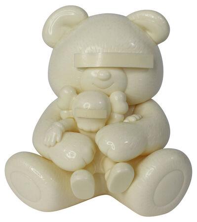 KAWS, 'Undercover Bear (White)', 2009
