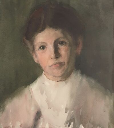 Marion Campbell Hawthorne, 'Portrait of Student', Early 20th c.