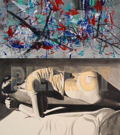 David Salle, 'Pierrot (2)', 2012