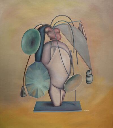 Pablo Benzo, 'Arreglo con pilea', 2017