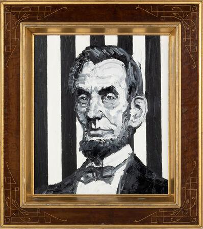 Hunt Slonem, 'President Abraham Lincoln', 2019