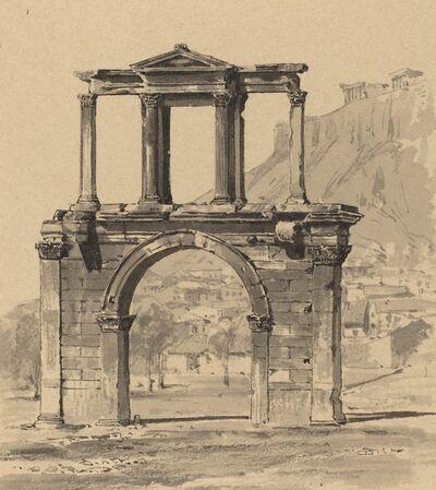 Themistocles von Eckenbrecher, 'Hadrian's Arch', 1890