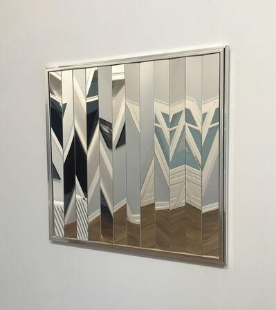 Victor Bonato, 'Spiegelverspannung', 1972
