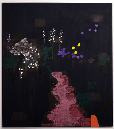 Bruce McLean, 'Dark Pink Path, Son Caragol', 2008