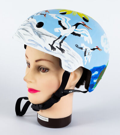 Yukari Sakura, 'Untitled (Helmet)', 2018
