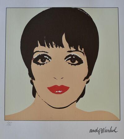 Andy Warhol, 'Liza Minnelli', ca. 1980