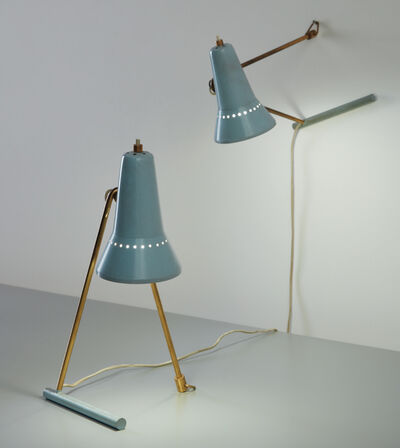 Stilnovo, 'Pair of bedside lamps', 1950s