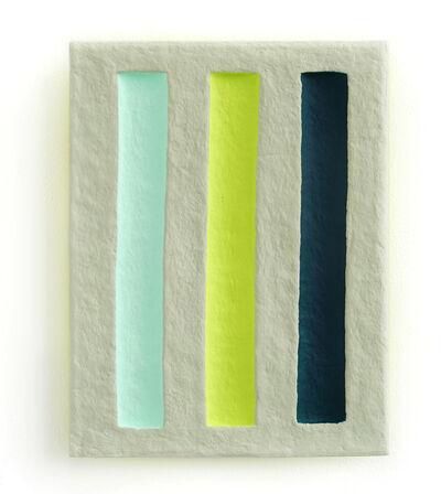Adam Frezza & Terri Chiao, 'Verdant Pillars in a Misty Green Field', 2020