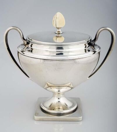 Arthur J. Stone, 'Sugar Bowl with Lid from Coffee Service', 1847-1938