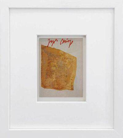 Joseph Beuys, 'Materie', 1970