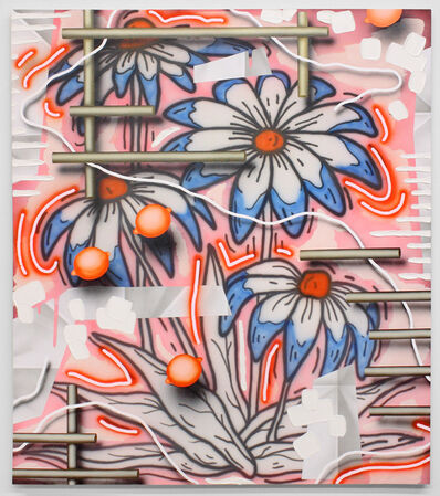 Josh Reames, 'Flowers (pink)', 2017
