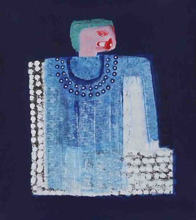 Amadou Sanogo, 'La Robe bleue', 2015