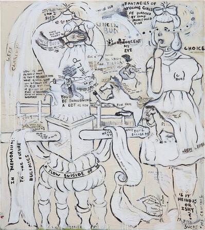 Sue Williams, 'Uncle Bud', 1992