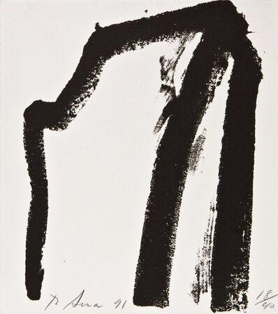 Richard Serra, 'Afangar (from Videy AfangarAfangar Series)', 1991