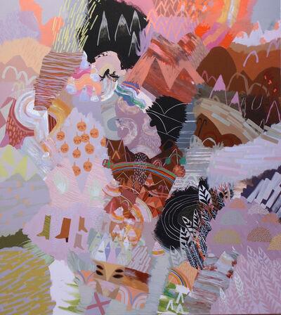 Meghan Hildebrand, 'Lupine', 2017