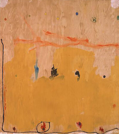 Helen Frankenthaler, 'Tales of Genji II (from a Suite of Six Woodcuts) ', 1998