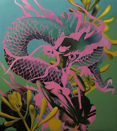Manu Muñoz, 'El dragón y la madreselva', 2017
