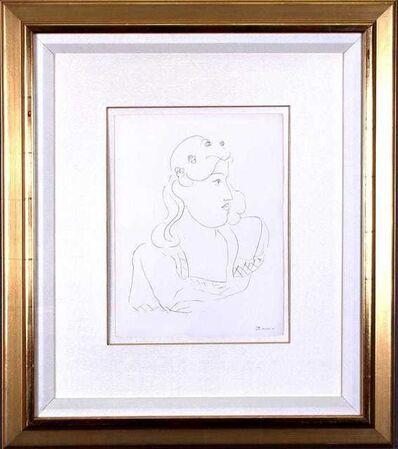 Henri Matisse, 'Untitled - Femme Profile', 1943