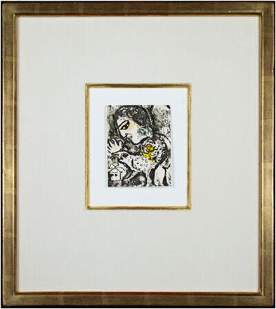 Marc Chagall, 'Carte de Voeux #731 - Chagall Catalog Raisonne', 1974