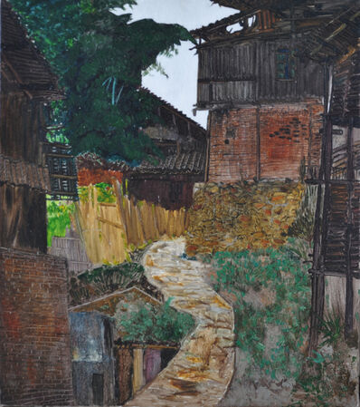 Liang Qunfeng, 'Fenced Trails', 2013
