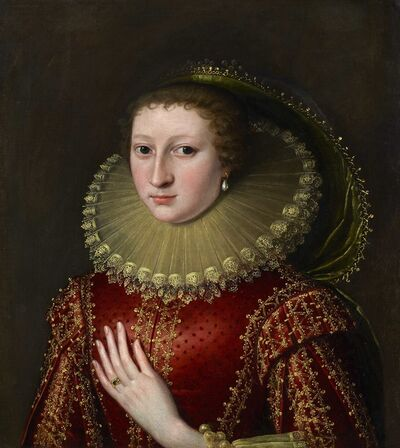 Circle of Paul van Somer, 'An Unknown Noblewoman', ca. 1620