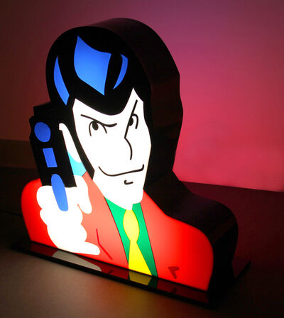 Marco Lodola, 'Lupin'