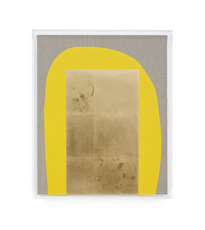 Pierre Vermeulen, 'Hair orchid sweat print, yellow with grey', 2019