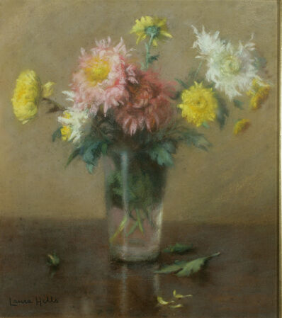 Laura Coombs Hills, 'Floral Still Life'
