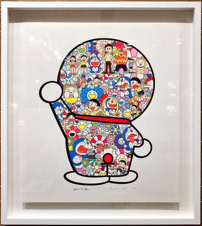Takashi Murakami, 'Doraemon: Mr. Fujiko F. Fujio and Doraemon Are in the Fields', 2019