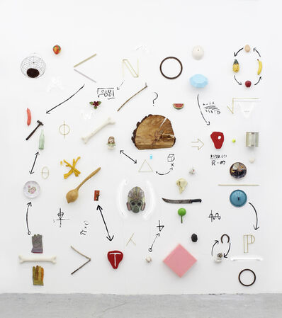 Gabriel Rico, ' I Mural - Reducción objetiva orquestada -', 2019