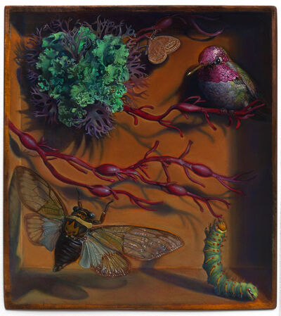 Kevin King, 'Diorama with Ruby Seaweed', 2014