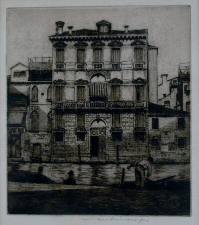 Mortimer Menpes, 'Palazzo, Venice', ca. 1910