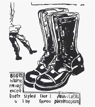 Andy Warhol, 'Paratrooper Boots'