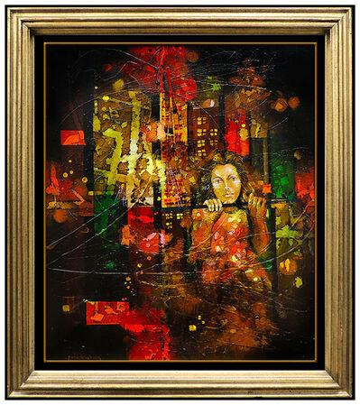 Yankel Ginzburg, 'Over the Streets of New York ', 20th Century